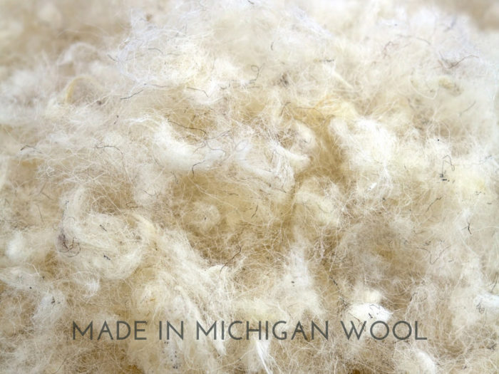 made in Michigan wool in Harbor Springs Mattress Company mattresses